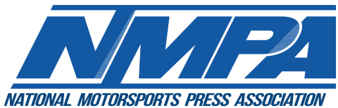 National Motorsports Press Association logo