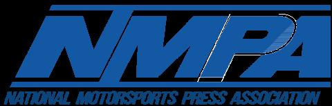 National Motorsports Press Association logo