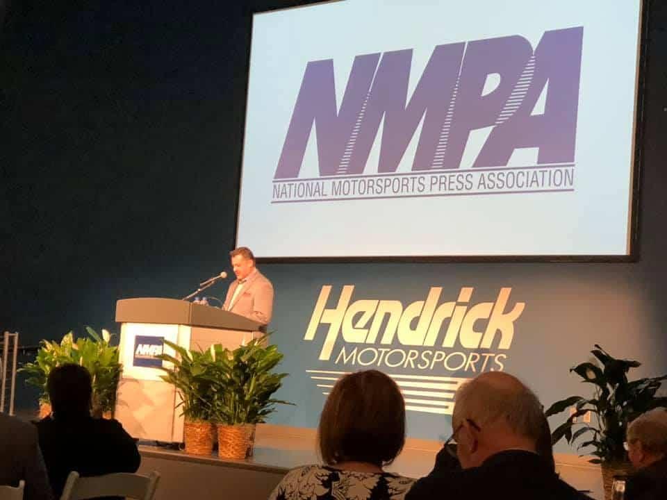 Tony Stewart speech at NMPA ceremony