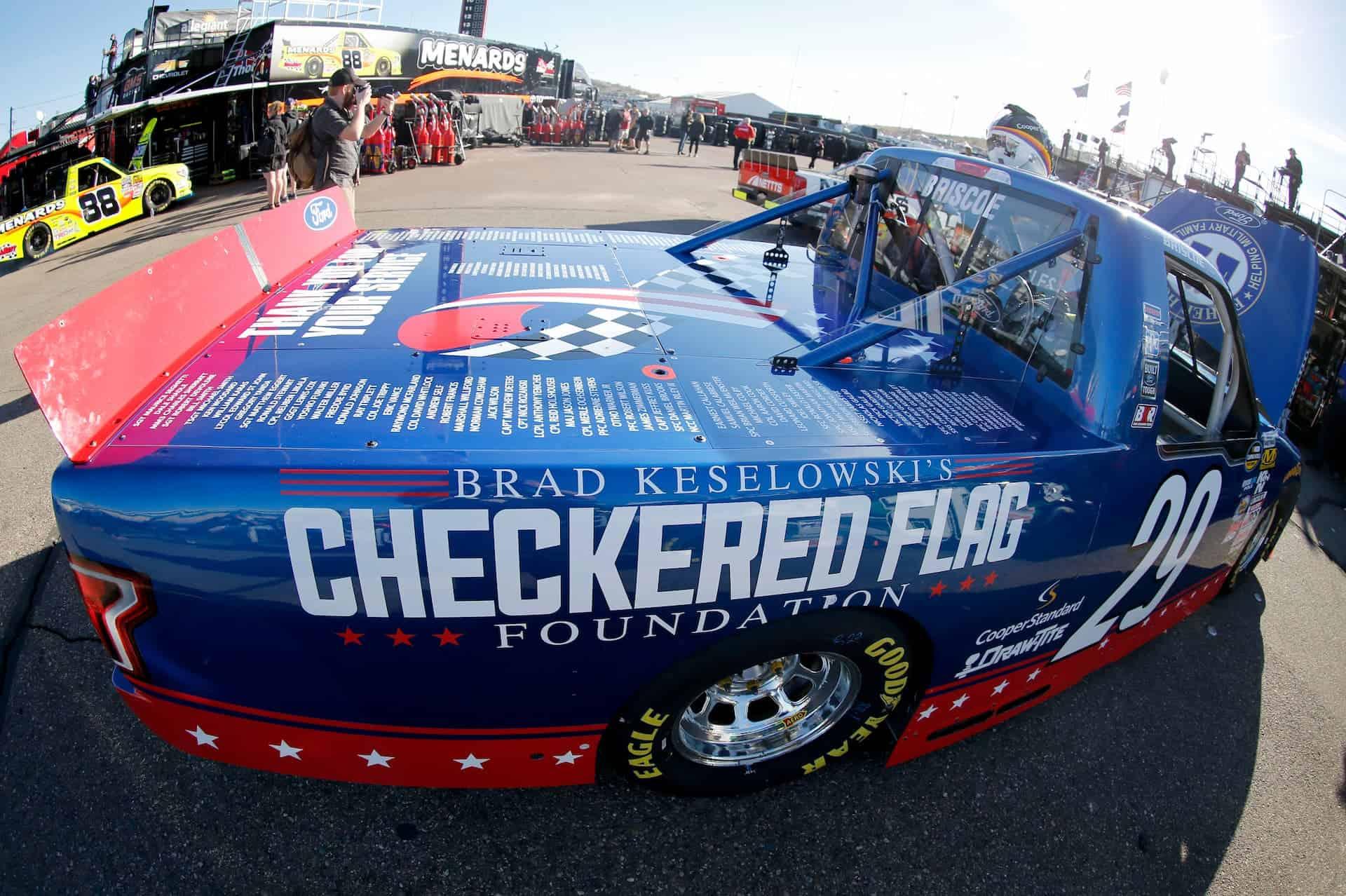 Brad Keselowski's Checkered Flag Foundation wins the 2021 Second Quarter Pocono Spirit Award by the NMPA.